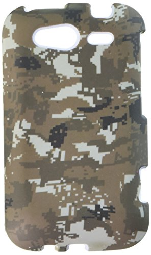 MyBat HTC Wildfire S GSM Lizzo Phone Protector Cover - Retail Packaging - Digital (Lizzo Digital Camo)