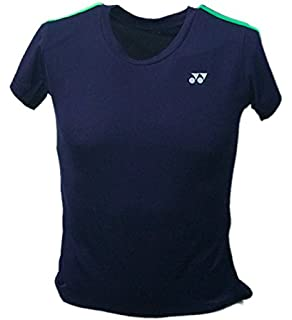 Yonex YT1000EX 2015 YCSports – Camiseta de manga corta de poliéster transpirable, cuello en forma de V,…