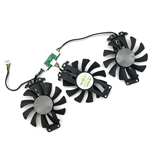 inRobert T127015SU 65MM DC 12V 0.30A 4-Pin Cooler Video Graphics Card Cooling Fan Replacement