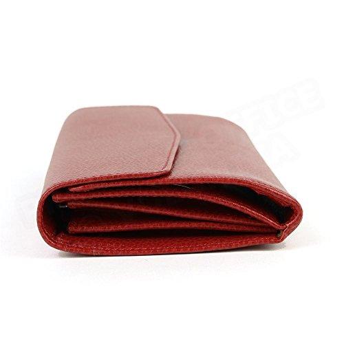 Compagnon de voyage cuir Rouge Beaubourg