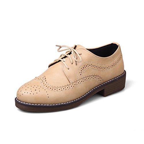 Zapato de boca profunda bajo/Vintage bajo tallado viento de Inglaterra zapatos de los estudiantes B