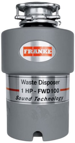 Franke FWD100 1 HP Continuous Feed Waste Disposer with 2800 RPM Magnet Motor by Franke