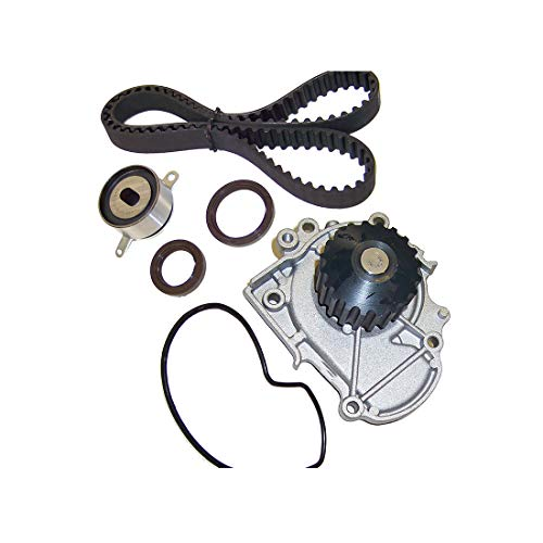 DNJ TBK253WP Timing Belt Kit with Water Pump for 1992-1998 / Acura/TL, Vigor / 2.5L / SOHC / L5 / 20V / 2451cc / G25A1, - Part Vigor Acura