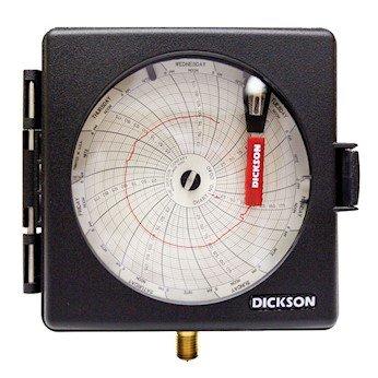 Dickson PW474 Pressure Chart Recorder, 0 to 200 (Pressure Recorder)