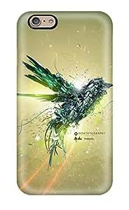Hot Design Premium DMTJkdJ762WmDwr Tpu Case Cover Iphone 6 Protection Case(green Bird Flight)