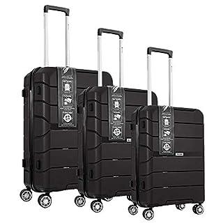 ALPINER 3 Pc set Luggage (Black)