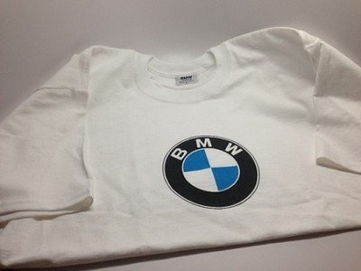 27918e609b31 Image Unavailable. Image not available for. Color  BMW lifestyle short  sleeve T-shirt logo