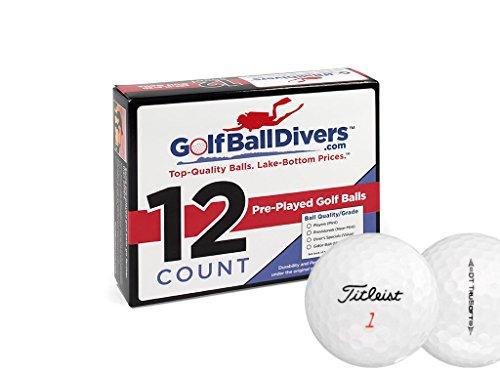 (Titleist DT TRUSOFT-Near Mint AAAA Grade-Recycled Used Golf BALLS-84)