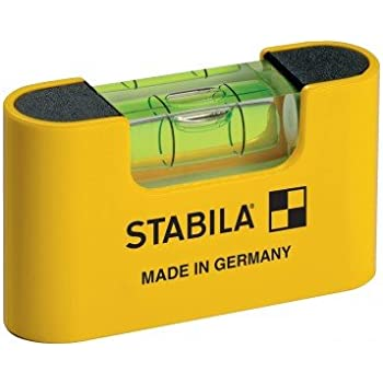 Stabila 11901 Magnetic Pocket Level PRO with Holster Yellow