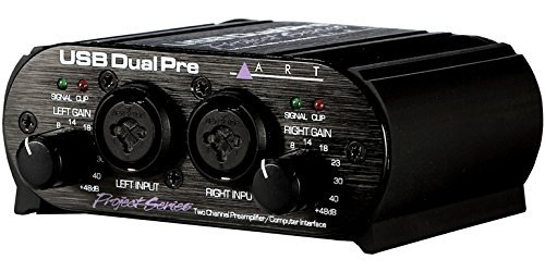 ART USB Dual Pre Dual Channel Portable Preamp