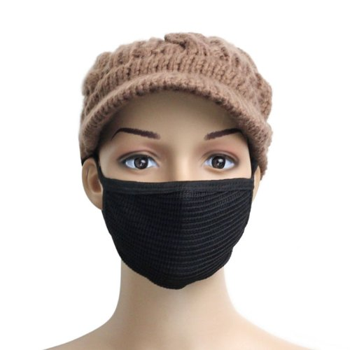 SOthread 2PC Unisex Fashion Warm Outdoors Sport Anti-Dust Cotton Mouth Mask S
