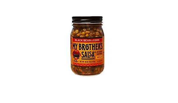 My Brothers Salsa Black Bean & Corn - Mild - 6 Pk. by My Brothers Salsa: Amazon.com: Grocery & Gourmet Food