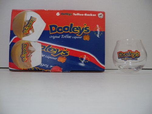 Dooley's Original Toffee-Rocker Glasses