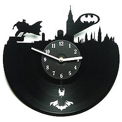 Secondlifeforvinyl Eco-Friendly Batman Vinyl Wall Clock
