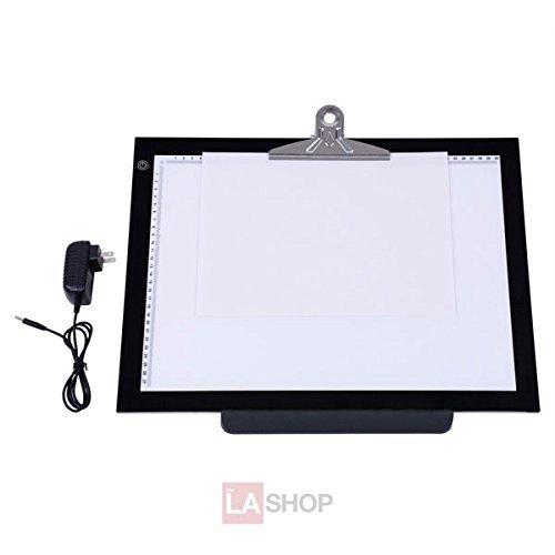 19in LED Art Stencil Tracing Light Pad Light Box Board