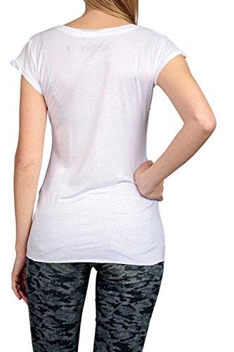 Hotspot Camiseta BORN TO BE RICH Blanco