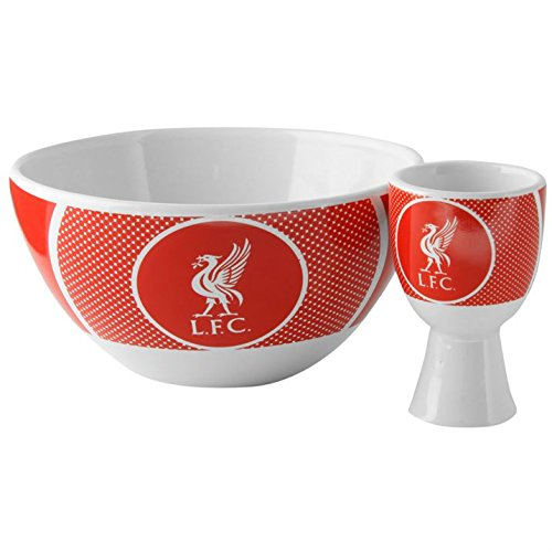 Liverpool F.C. Bowl and Egg Cup Set Liverpool FC