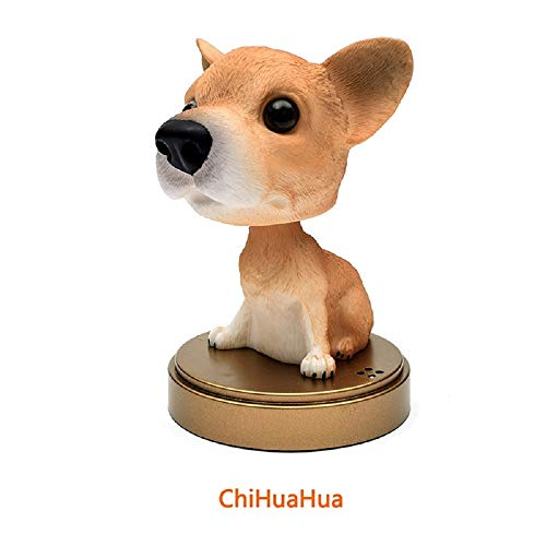 PAPPET Chihuahua Figurine Chihuahua Figure Car Ornaments Cute Action Figures Toys Animal Doll for Children Kid's Birthday Home Decorations