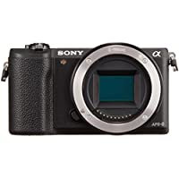 Sony a5100 Mirrorless Digital Camera with 3-Inch Flip Up LCD - Body Only (Black) - International Version (No Warranty)