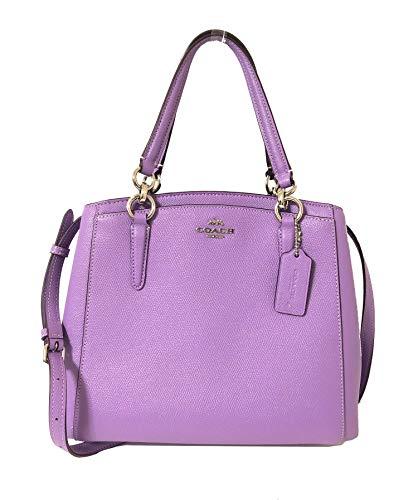 Purple Coach Handbag - 3