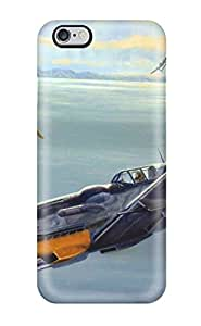 For Iphone 6 Plus Tpu Phone Case Cover(aircraft)