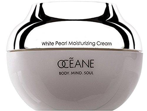 OCEANE Beauty White Pearl Moisturizing Cream 1.76 oz Mineral-Rich PEARL POWDER w/ MARINE PLANT STEM CELL Technology.