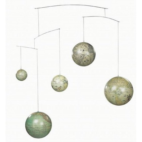 Authentic Models Globe Mobile - (Holiday Hanging Mobile)