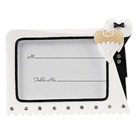 Tux-Gown Place Setting Frames: Amazon.co.uk: Kitchen & Home