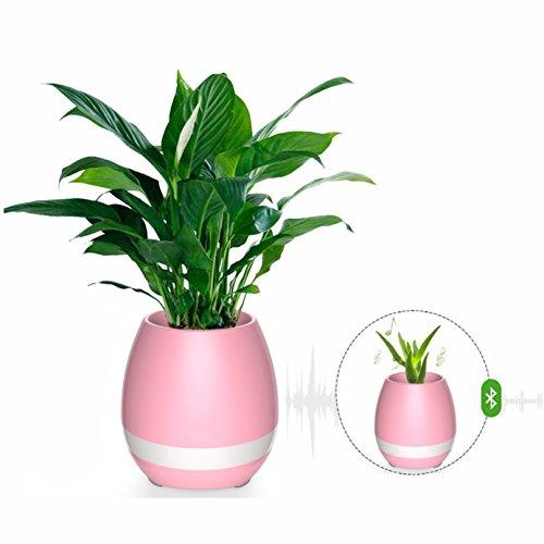 De Cisixin Musique Fleurs Pot Light Smart Flowerpot Night ED9IH2