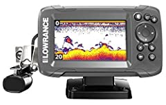The worlds easiest fish finder, HOOK2-4x Bullet offers simple menus, easy access to key functions and Auto tuning sonar Powered by proven Lawrence performance, HOOK2-4x features wide-angle, Broadband sonar coverage Just plug it in and fish Ye...