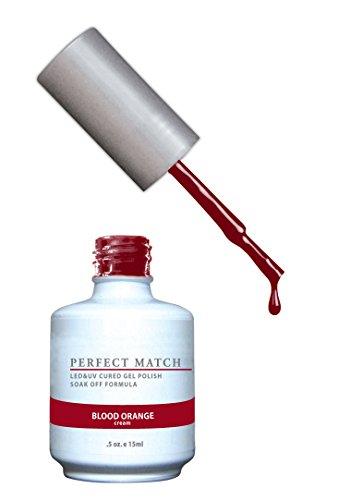 LECHAT Perfect Match Nail Polish, Blood Orange, 0.500 Ounce