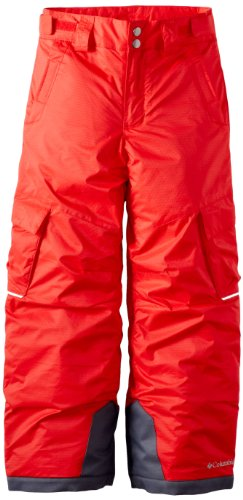 Columbia Little Boys Glacier Slope II Pant, Bright Red, XX-Small