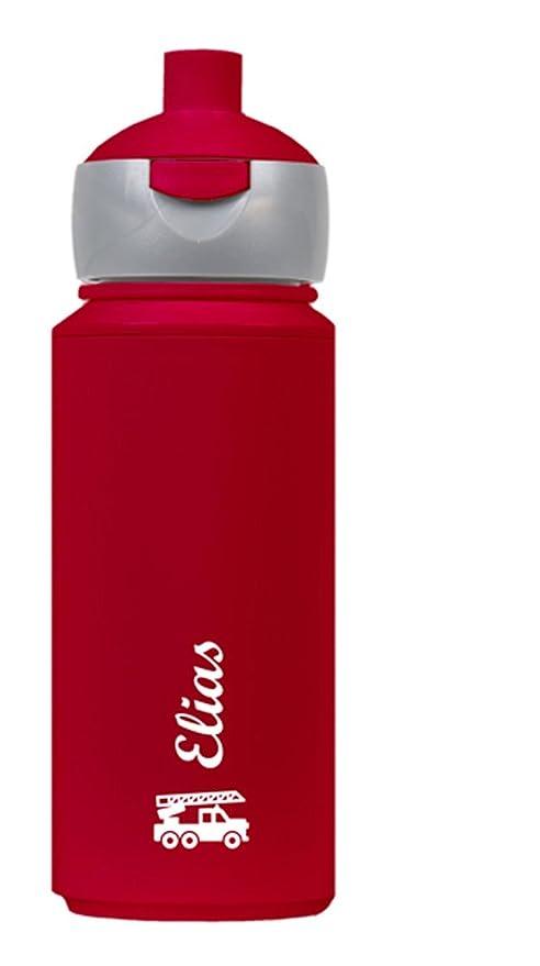 Botella Bomberos – Personalizada con nombre personalizado