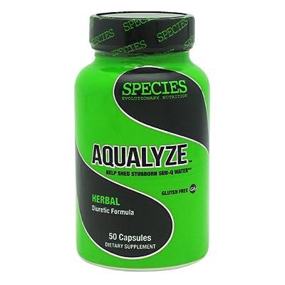 Species Nutrition Aqualyze - Herbal Diuretic Formula - 50 Capsules