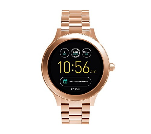 Fossil Gen 3 Q Venture Rose Goldtone Smart Watch Fossil