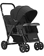 Joovy Caboose Too Graphite Stand-On Tandem Stroller, Black , 38x21.25x42 Inch (Pack of 1)