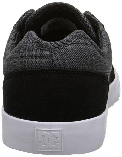 DC Men's Tonik SE Skate Shoe, Black/Charcoal, 6 M US