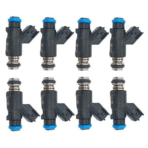 2500 Fuel Injector - Germban 8pcs Fuel Injector Fits for 2010-2013 GMC Sierra 2500 HD Chevrolet Silverado 2500 HD 6.0L-V8 12613412