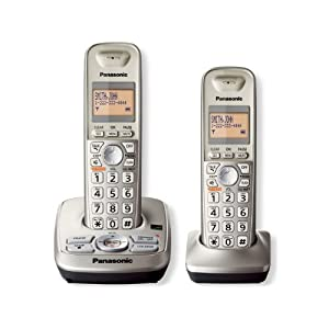 Panasonic KXTG4222N DECT 6.0 2-Handset Phone System with Answering Capability