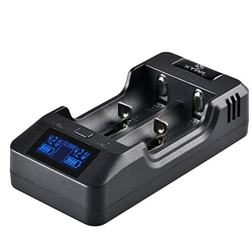 Xtar Vp2 Independent 2 Channel Battery At A Glance