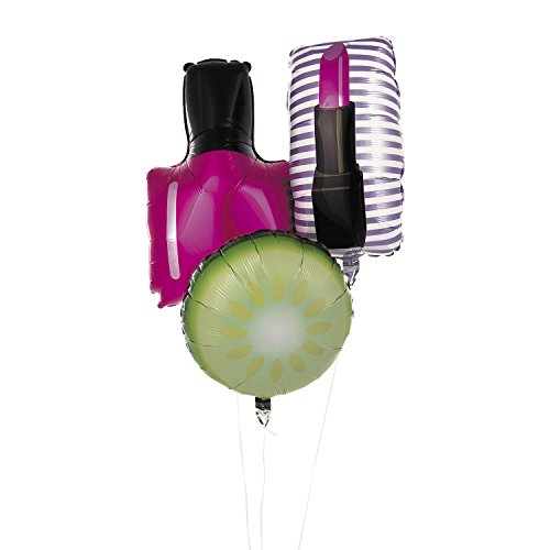 Fun Express Spa Party Mylar Foil Balloons by Fun Express (Image #1)