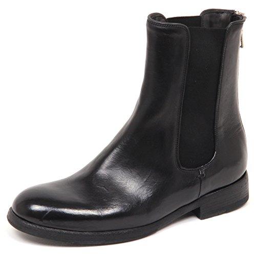 Woman Effect Black Scarpe Nero Gold E6846 Beatles Shoe Sartori Vintage Donna Boot wqgvpwn0