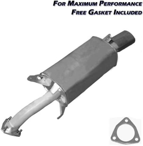 resonator pipe muffler exhaust system kit fits 2001-2004 Volvo V40 S40 1.9L Turbo