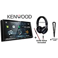 Kenwood DDX775BH w/KH-KR900 Headphones 6.95 WVGA DVD Receiver w/Bluetooth and HD Radio and Over the Ear Headphones And a SOTS Lanyard