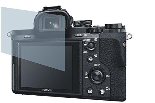 Sony Alpha 7 II (2 Stück) PREMIUM Displayschutzfolie Bildschirmschutzfolie kristallklar - KRATZFEST UND PASSGENAU