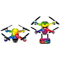 Enjocho Skin Stickers,1PC Waterproof Decal Skins Wrap Sticker Body Protector For DJI Spark Mini Drone