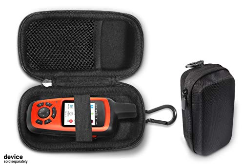 Handheld GPS case Compatible with Garmin inReach Explorer+, Mini, SE+, Compact and Light Weight Strong case, mesh Accessory Pocket,Elastic Security Strap to Make The GPS Safe, Detachable Wrist -