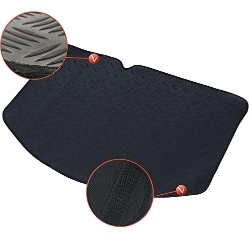 DBS - 1766216 - Tapis de Coffre Auto/Voiture - sur Mesure - Caoutchouc Haute Qualité - Antidérapant - Simple d'entretien