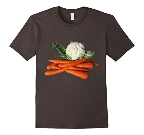 Carrots Cauliflower t-shirt Healthy Salad Side Dish Veggies