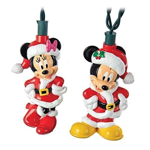 Kurt Adler Mickey and Minnie Light Set